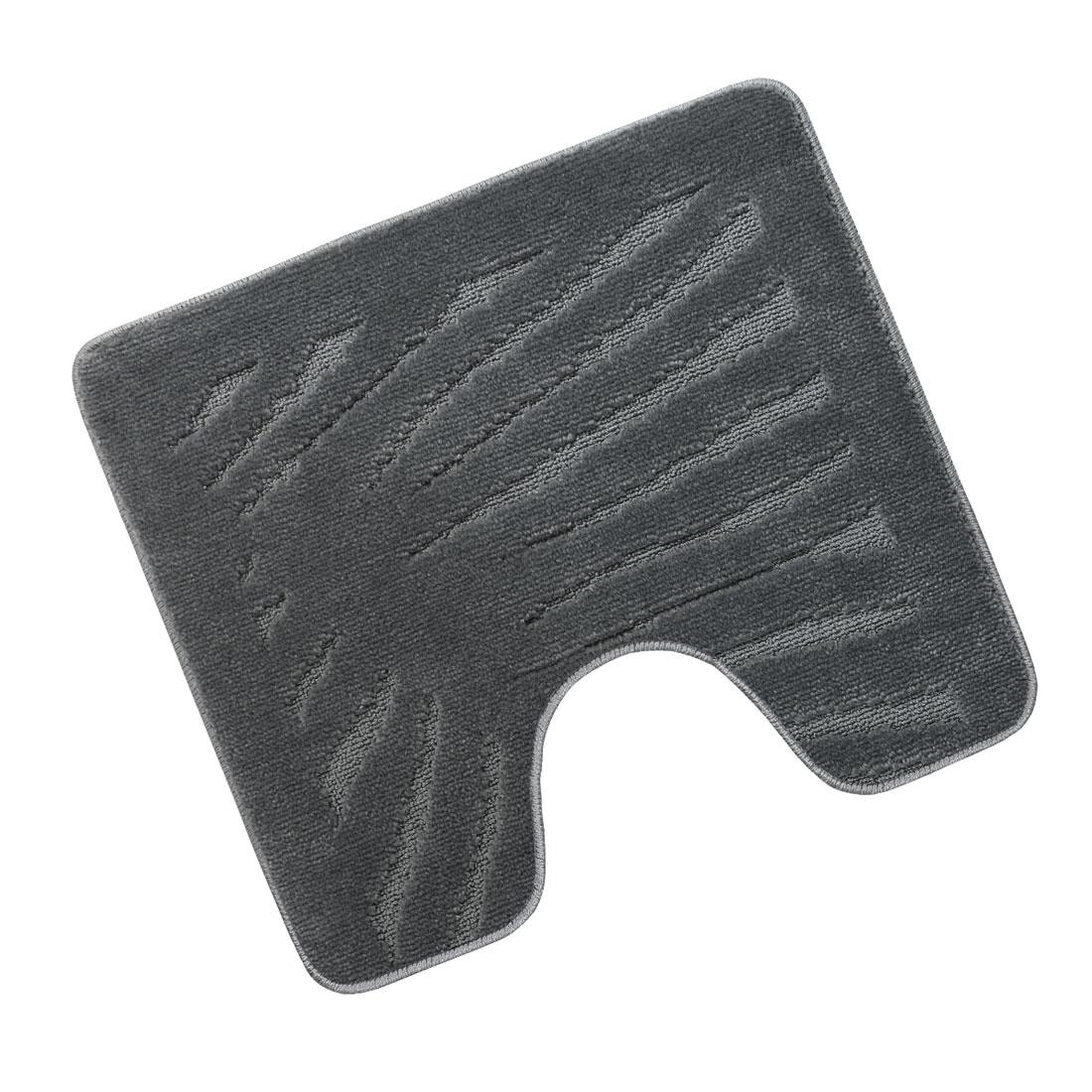 Předložka před WC 60x50cm List šedý
