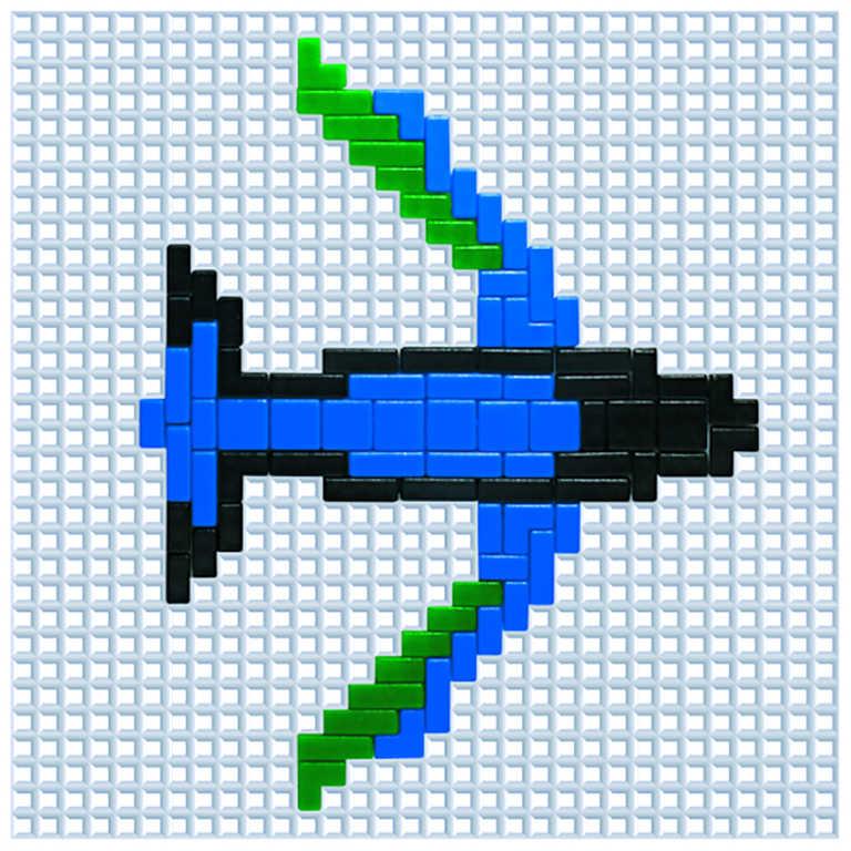 VISTA Mosaic Color 1 Stavebnice mozaiková 2016 dílků v krabici plast