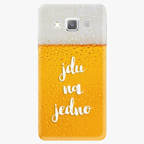 Plastový kryt iSaprio - Jdu na jedno - Samsung Galaxy A5