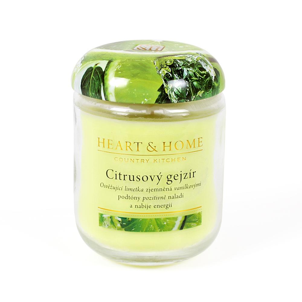 - Velká svíčka - Citrusový gejzír