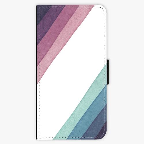 Flipové pouzdro iSaprio - Glitter Stripes 01 - iPhone 7