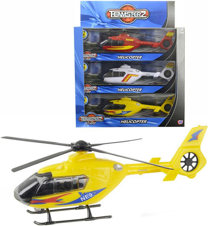 Teamsterz vrtulník na baterie Světlo Zvuk v krabičce 4 druhy