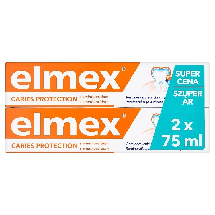 Caries Protection zubní pasta 2 x 75 ml