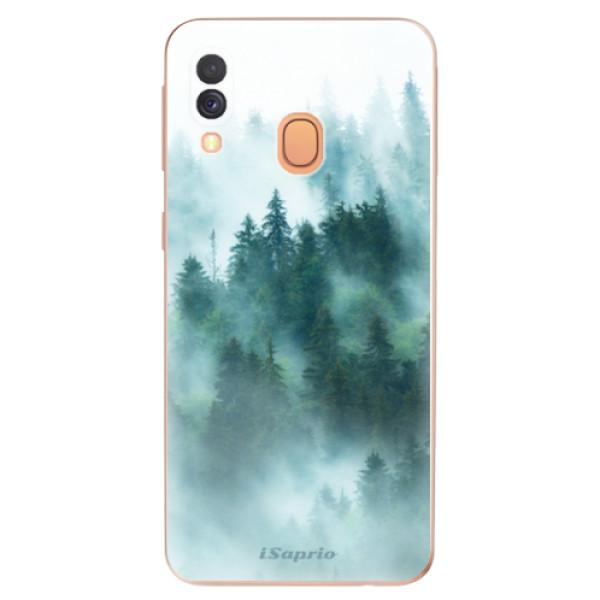 Odolné silikonové pouzdro iSaprio - Forrest 08 - Samsung Galaxy A40