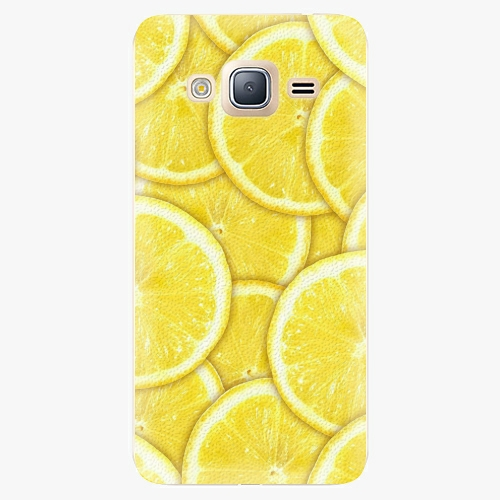 Plastový kryt iSaprio - Yellow - Samsung Galaxy J3