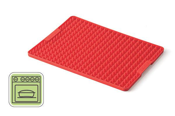 Silikonový plech červený 290x220mm