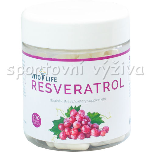 Resveratrol 100 kapslí