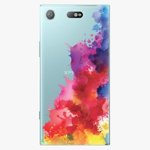Plastový kryt iSaprio - Color Splash 01 - Sony Xperia XZ1 Compact