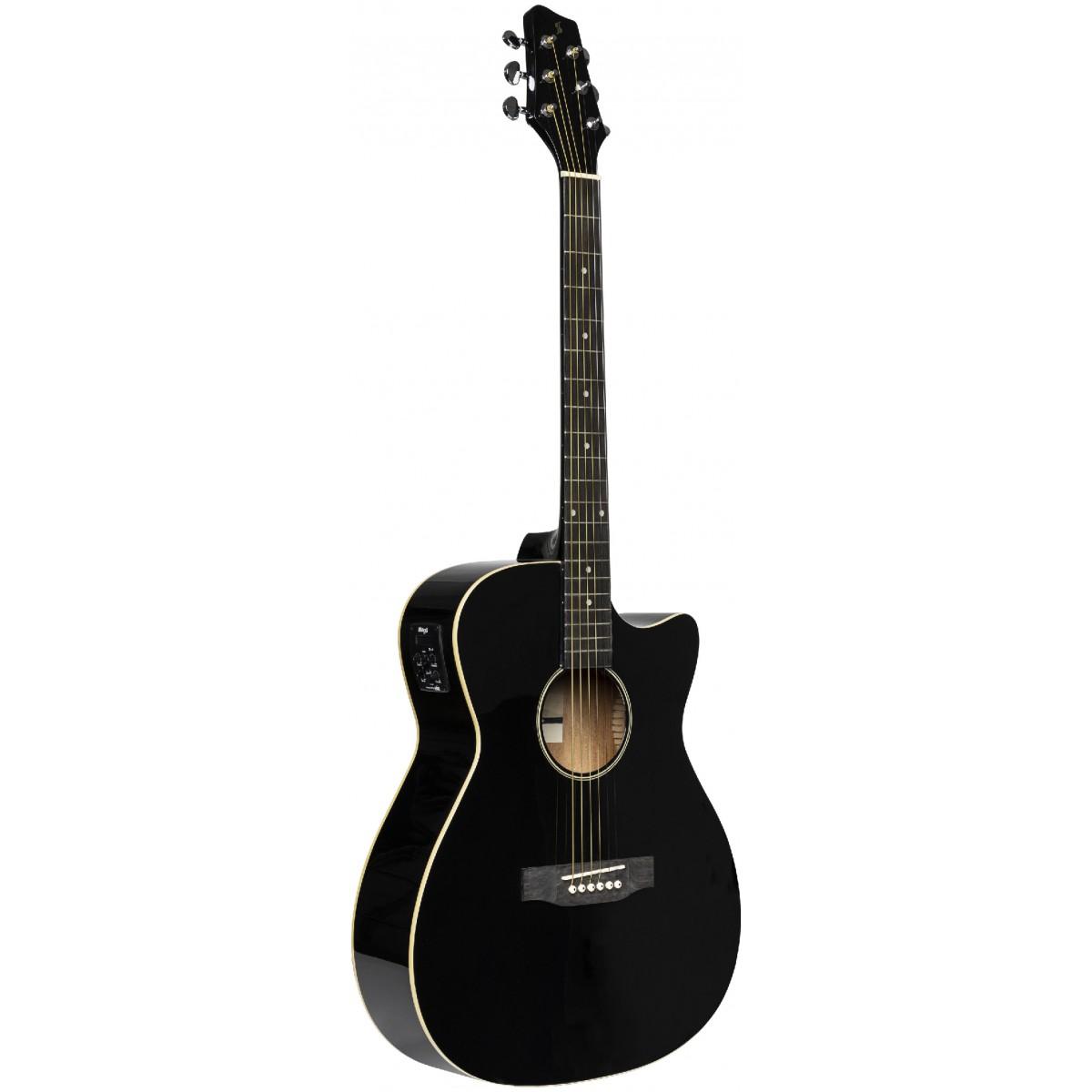 Stagg SA35 ACE-BK, elektroakustická kytara