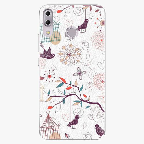 Plastový kryt iSaprio - Birds - Asus ZenFone 5Z ZS620KL