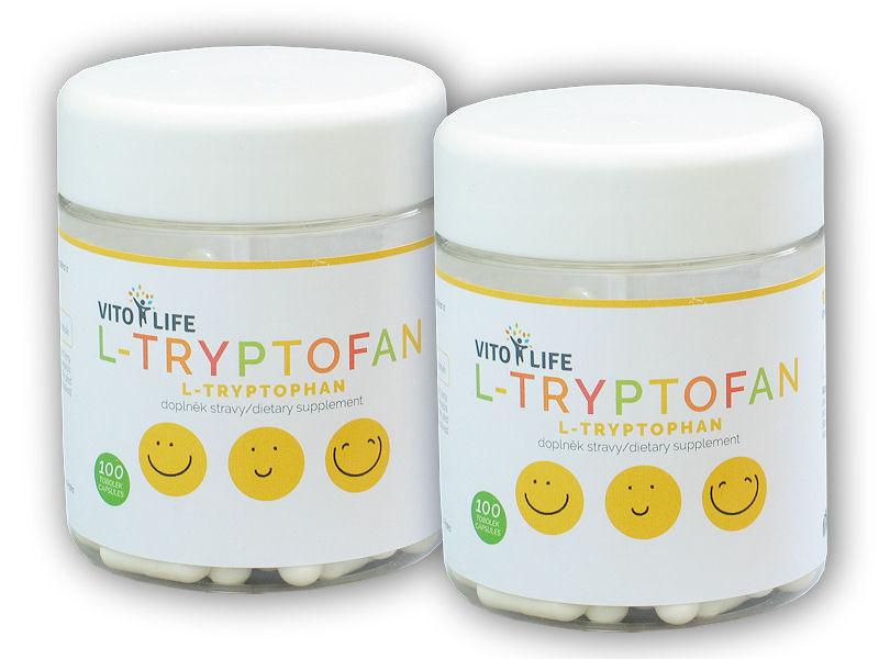 2x L-Tryptofan 100 kapslí