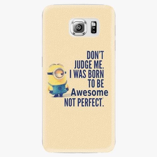 Plastový kryt iSaprio - Be Awesome - Samsung Galaxy S6 Edge Plus