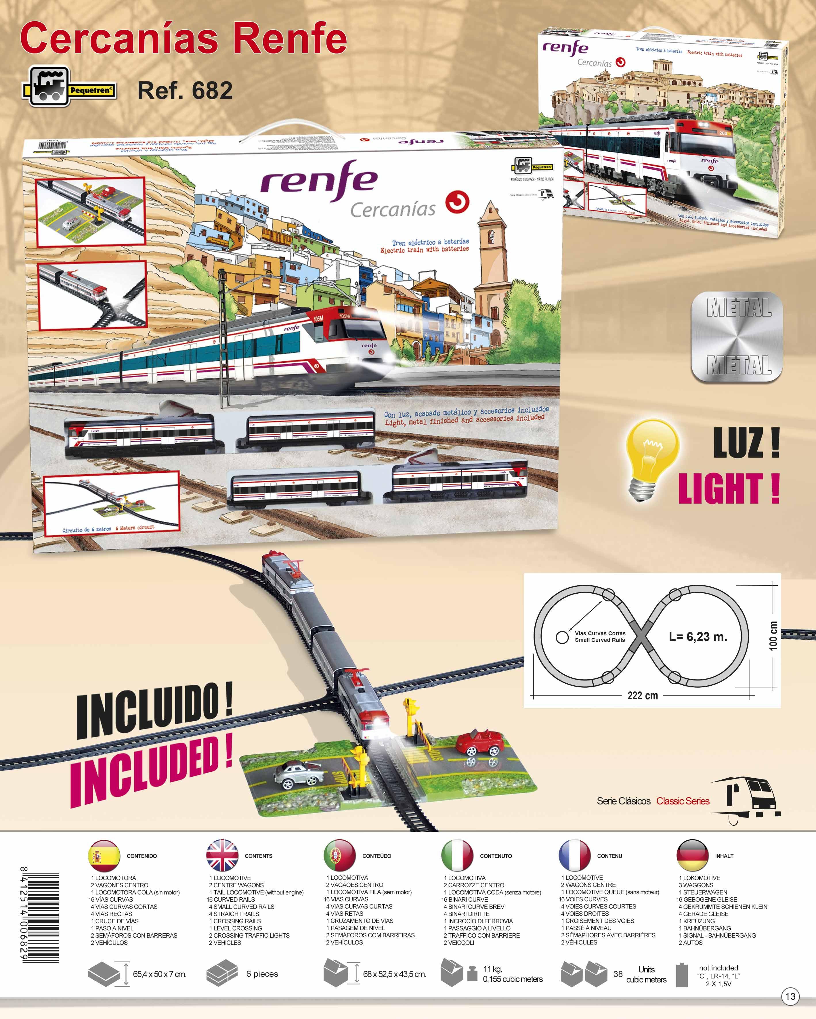 Pequetren CERCANÍAS RENFE – příměstský vlak