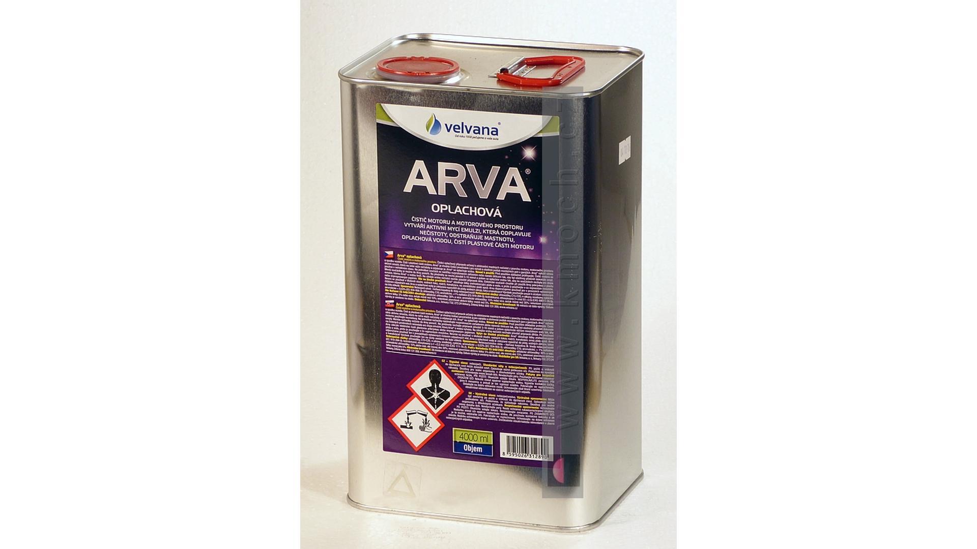 ARVA oplachová - plech - 4l