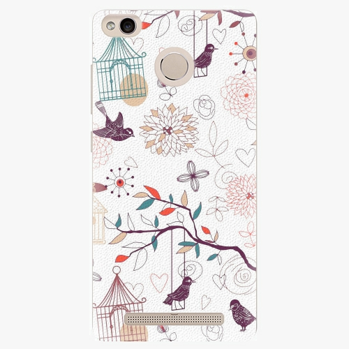 Plastový kryt iSaprio - Birds - Xiaomi Redmi 3S