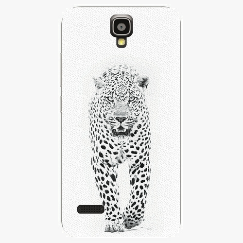 Plastový kryt iSaprio - White Jaguar - Huawei Ascend Y5