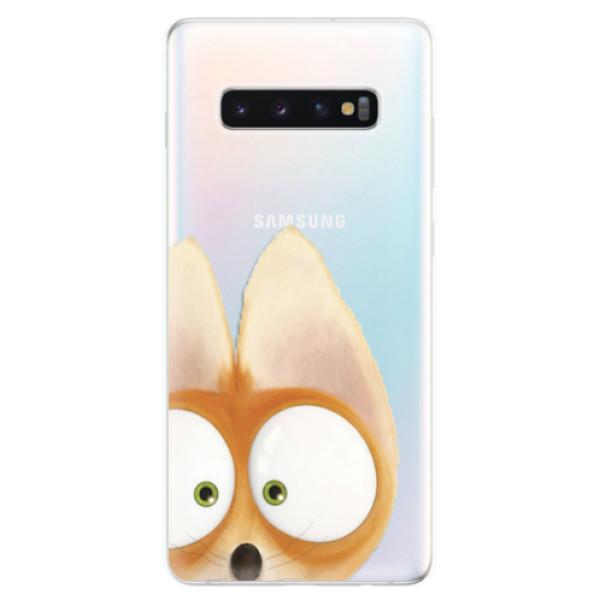 Odolné silikonové pouzdro iSaprio - Fox 02 - Samsung Galaxy S10+