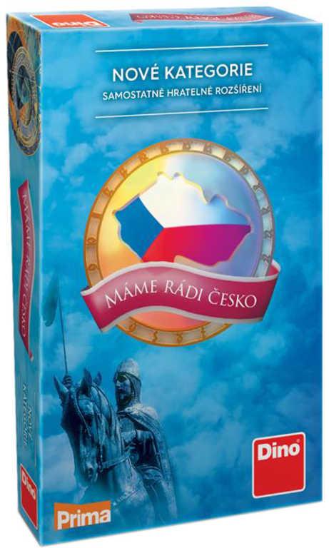 DINO Hra Máme rádi Česko nové kategorie (rozšíření) *SPOLEČENSKÉ HRY*