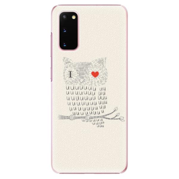 Plastové pouzdro iSaprio - I Love You 01 - Samsung Galaxy S20