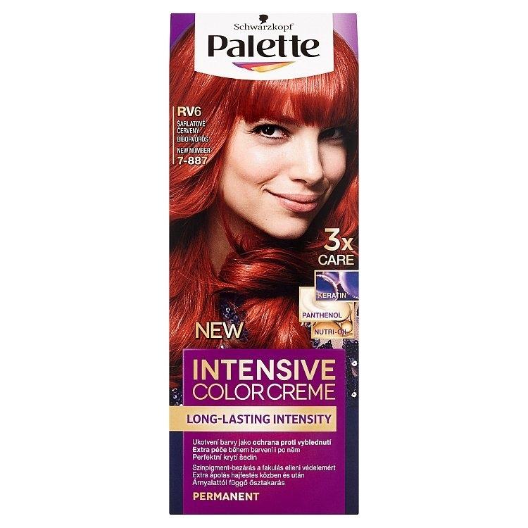 Schwarzkopf Intensive Color Creme barva na vlasy Šarlatově červený RV6 (7-887)