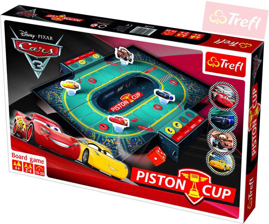 TREFL Hra Piston Cup Cars 3 (Auta) *SPOLEČENSKÉ HRY*