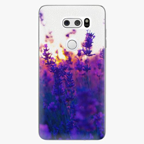 Plastový kryt iSaprio - Lavender Field - LG V30