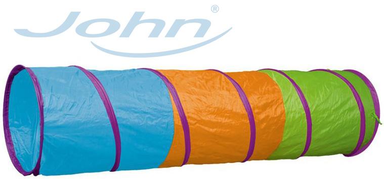 JOHN Tunel dětský prolézací 180cm textil v tašce