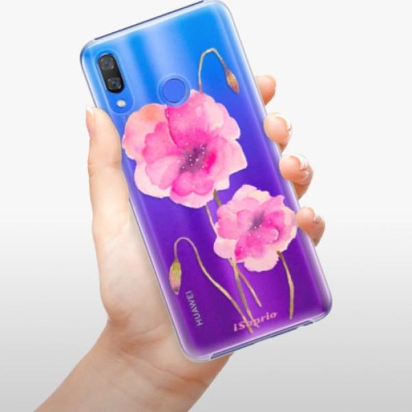 Plastové pouzdro iSaprio - Poppies 02 - Huawei Y9 2019
