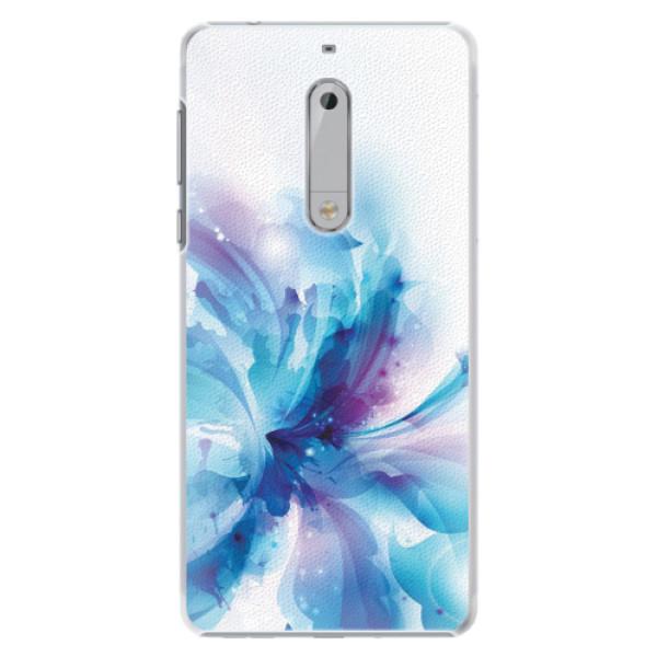 Plastové pouzdro iSaprio - Abstract Flower - Nokia 5