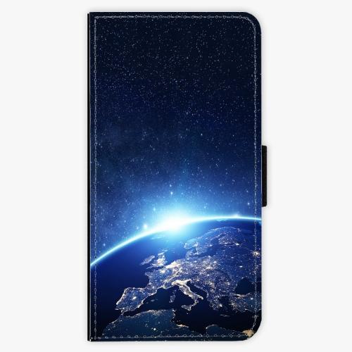 Flipové pouzdro iSaprio - Earth at Night - Sony Xperia XZ