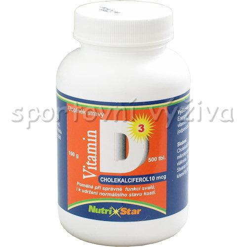 Vitamín D3 10mcg 500 tablet