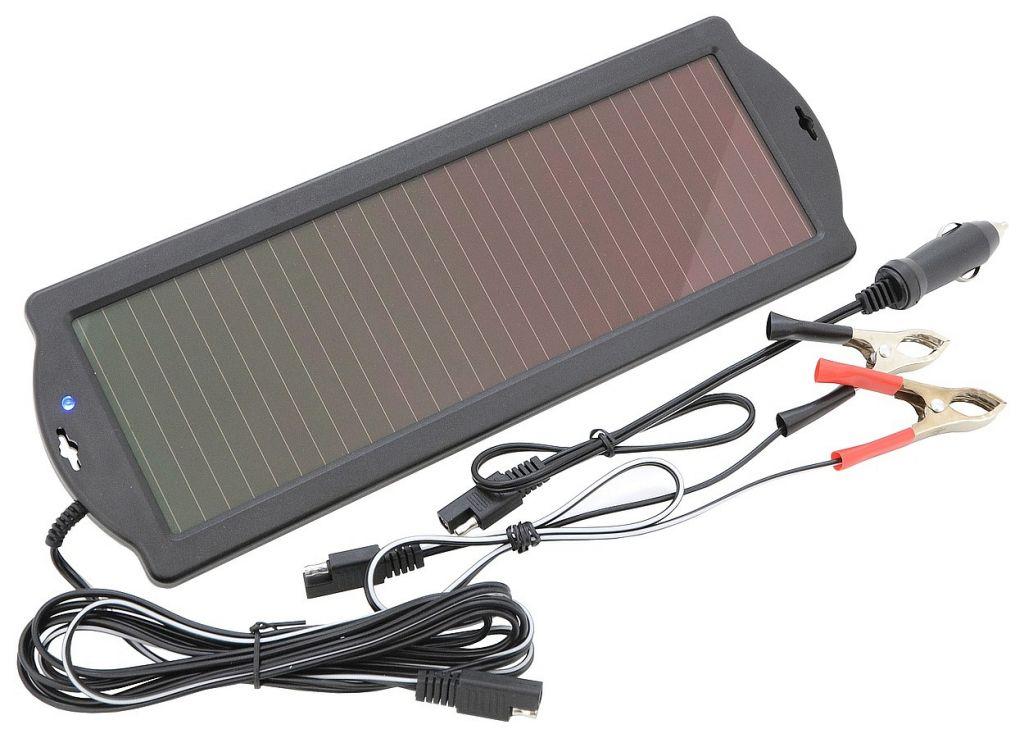 Nabíječka solární, udržovací, 12 V