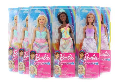 Barbie Kouzelná princezna FXT13