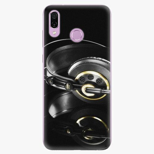 Silikonové pouzdro iSaprio - Headphones 02 - Huawei Honor Play