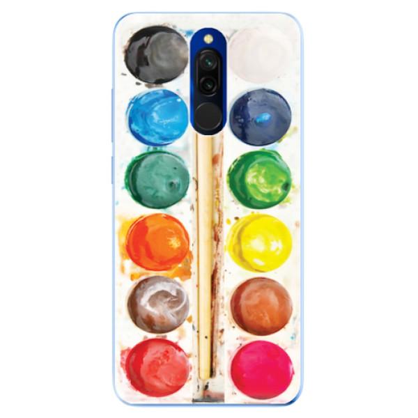 Odolné silikonové pouzdro iSaprio - Watercolors - Xiaomi Redmi 8