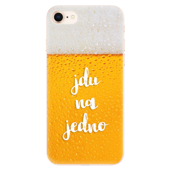 Odolné silikonové pouzdro iSaprio - Jdu na jedno - iPhone 8