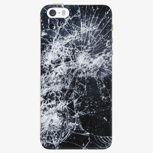 Plastový kryt iSaprio - Cracked - iPhone 5/5S/SE