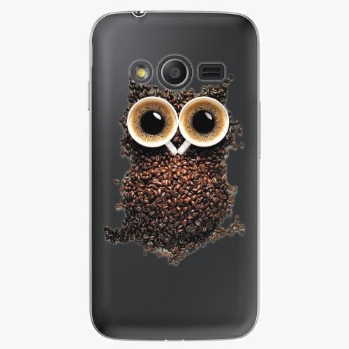 Plastový kryt iSaprio - Owl And Coffee - Samsung Galaxy Trend 2 Lite