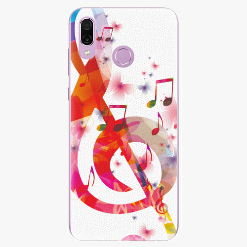 Silikonové pouzdro iSaprio - Love Music - Huawei Honor Play