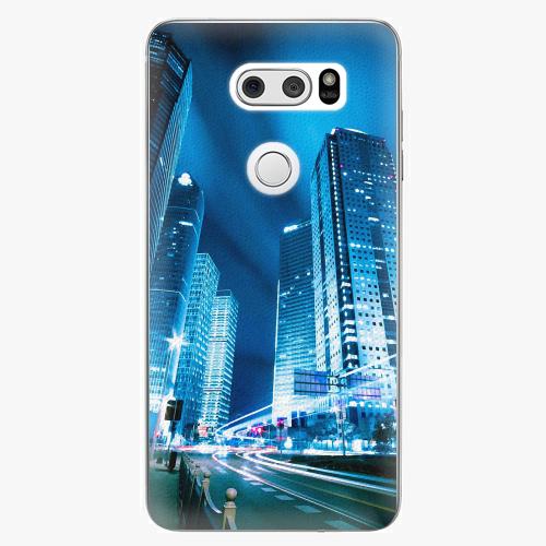 Plastový kryt iSaprio - Night City Blue - LG V30