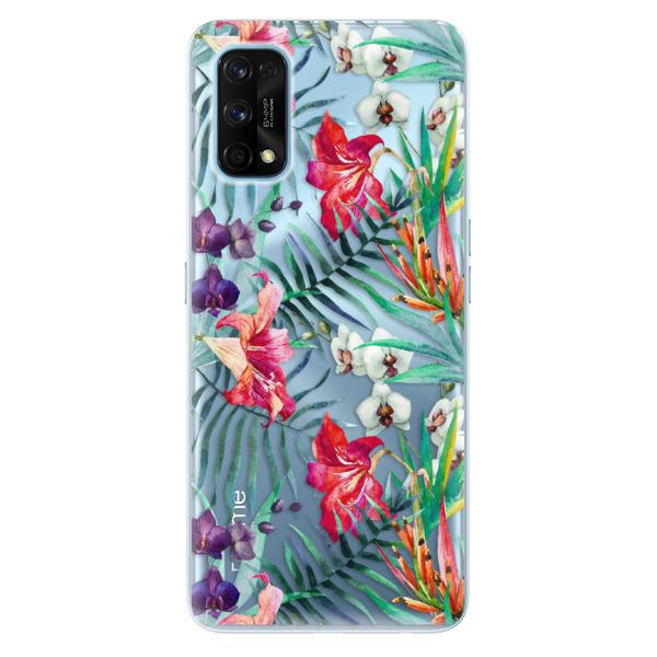 Odolné silikonové pouzdro iSaprio - Flower Pattern 03 - Realme 7 Pro