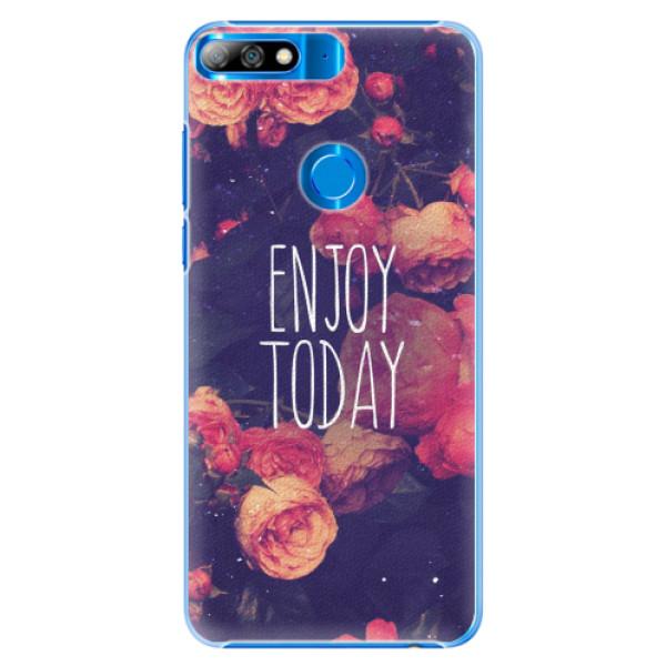 Plastové pouzdro iSaprio - Enjoy Today - Huawei Y7 Prime 2018