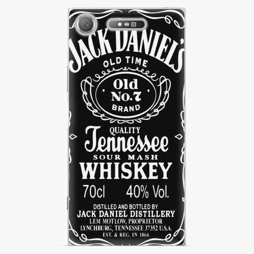 Plastový kryt iSaprio - Jack Daniels - Sony Xperia XZ1