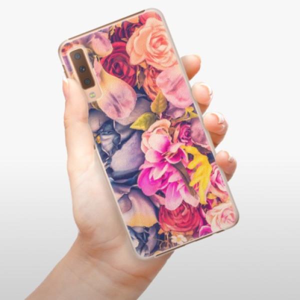 Plastové pouzdro iSaprio - Beauty Flowers - Samsung Galaxy A7 (2018)