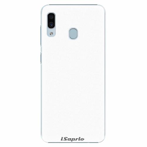 Plastový kryt iSaprio - 4Pure - bílý - Samsung Galaxy A30