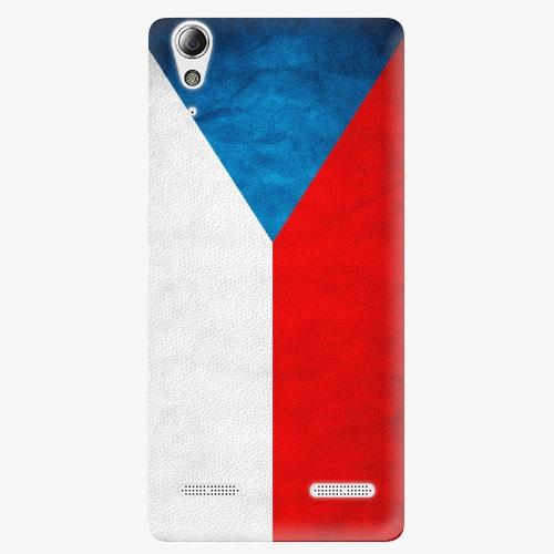 Plastový kryt iSaprio - Czech Flag - Lenovo A6000 / K3
