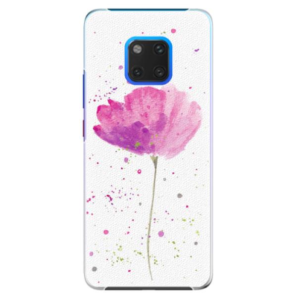 Plastové pouzdro iSaprio - Poppies - Huawei Mate 20 Pro