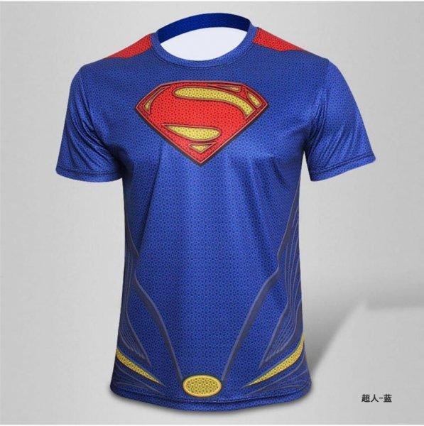 Sportovní tričko - Superman - Velikost - M