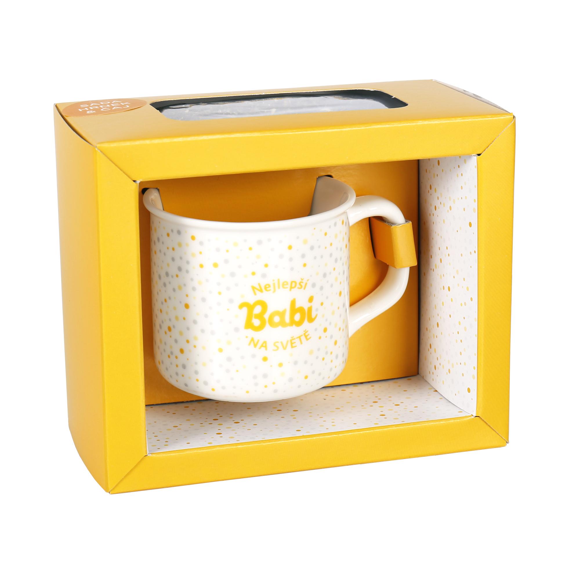 Sada hrnku s čajem - Babi