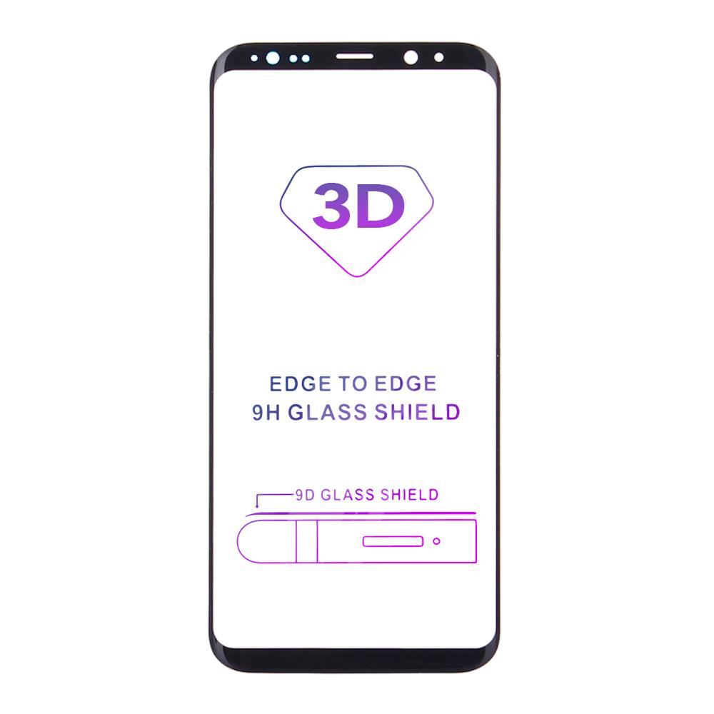 Tvrzené sklo iSaprio 3D BLACK pro Samsung Galaxy S9